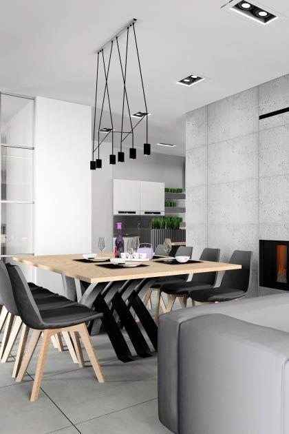 Salon Z Kuchnią Funkcjonalne Niebanalne Wnętrza