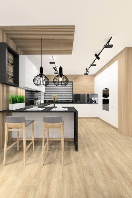 Salon połaczony z kuchnią