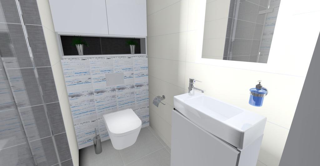 Mała łazienka Funkcjonalne I Nowoczesne Wnętrze