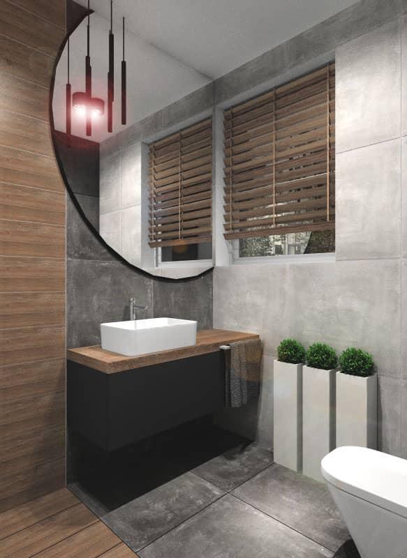 Łazienka, projekt małej łazienki