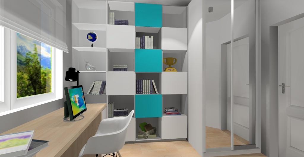 Pokój dziecka dla dziewczynki, aranżacja pokoju dziecka, projektowanie wnętrz online