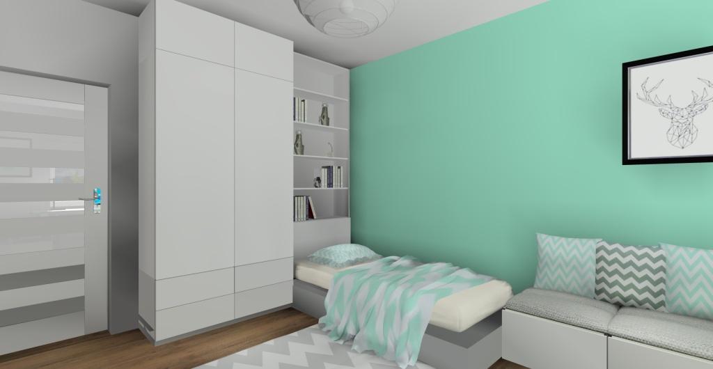Projekty pokoju dla nastolatki - dziewczyny