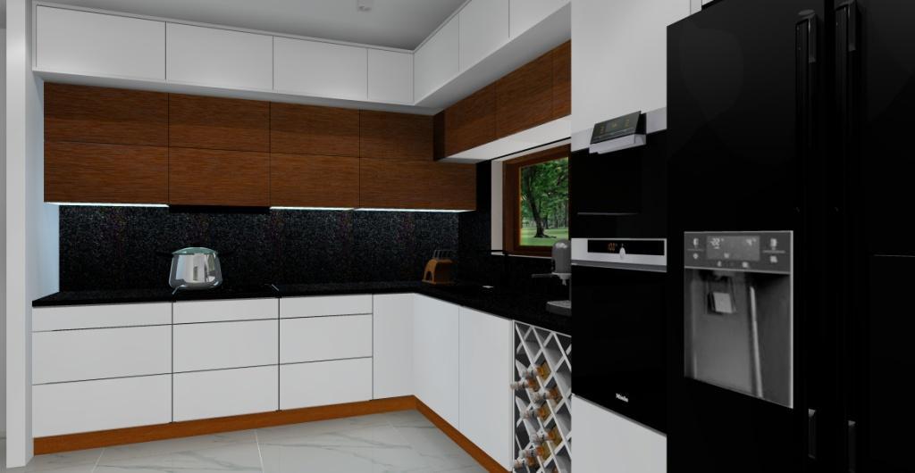 Aranżacja kuchni, projekt kuchni w stylu nowoczesnym