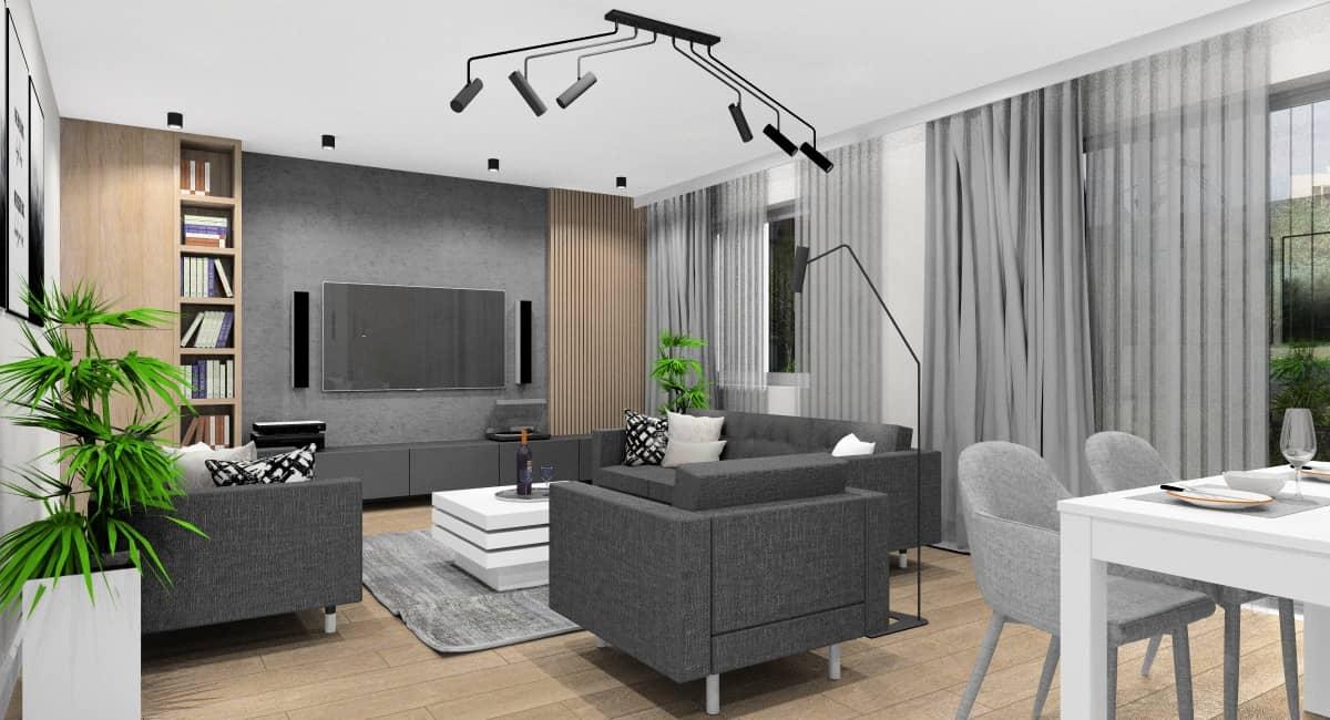Aranżacja salonu – jak dobrze urządzić wnętrze salonu ?