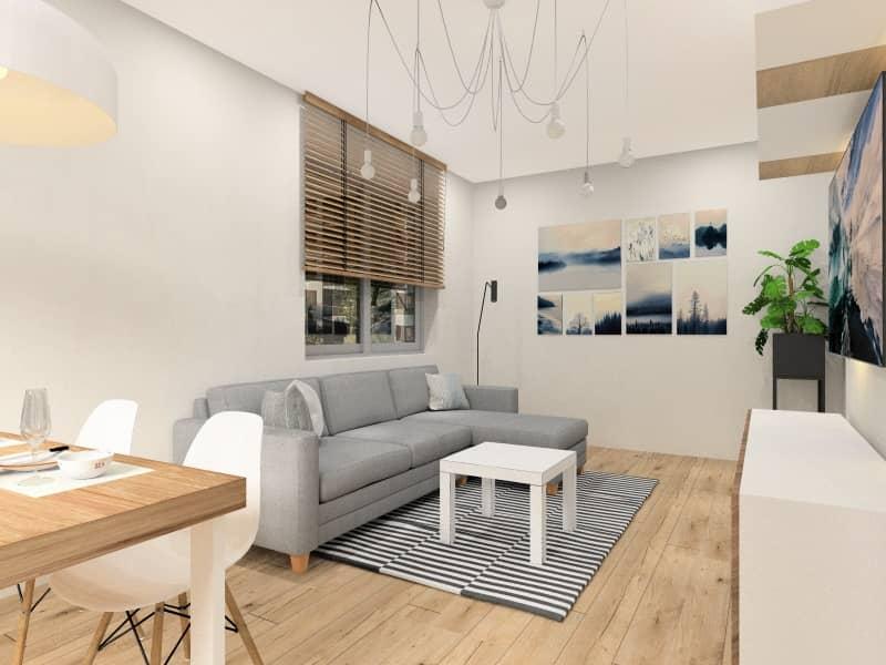 Projektowanie mieszkania na wynajem