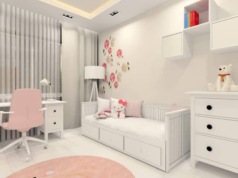 Zobacz jak urządzić pokój dla 6 letniej dziewczynki? Pomysł na pokój dziecięcy.