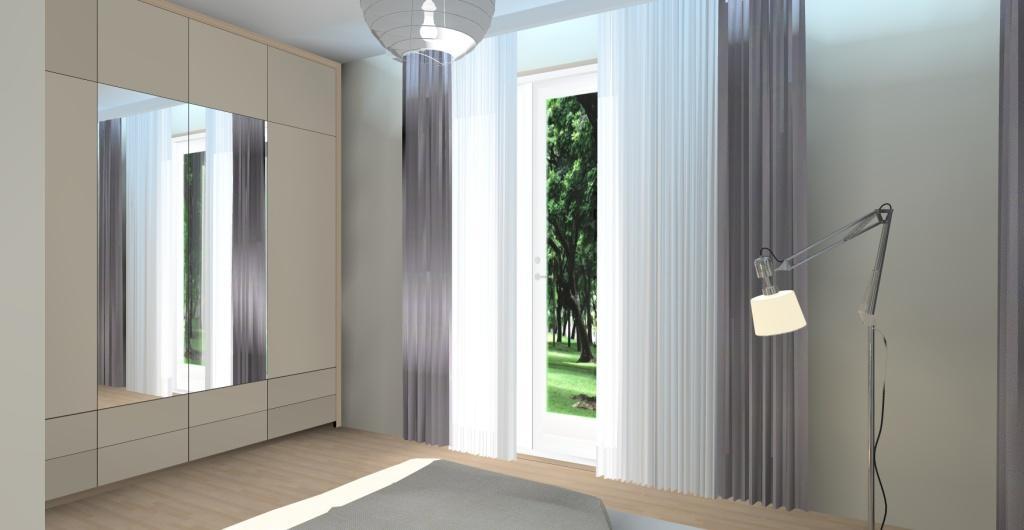Projektowanie wnętrz online - projekt sypialni w stylu nowoczesnym