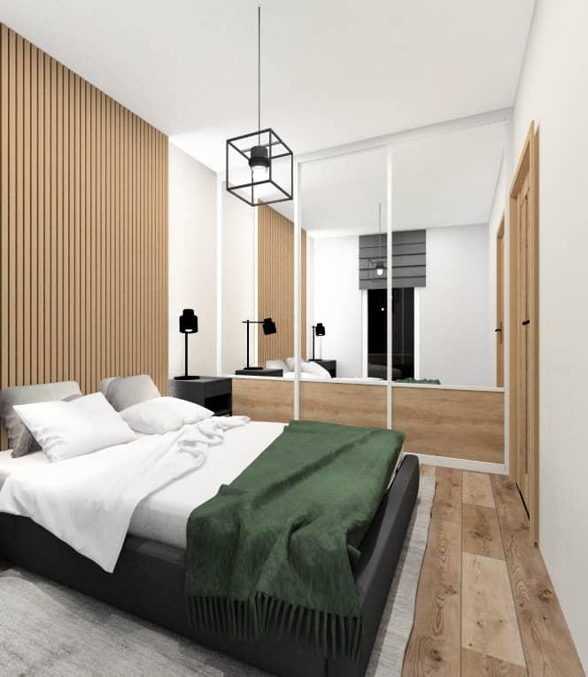 Sypialnia w bloku