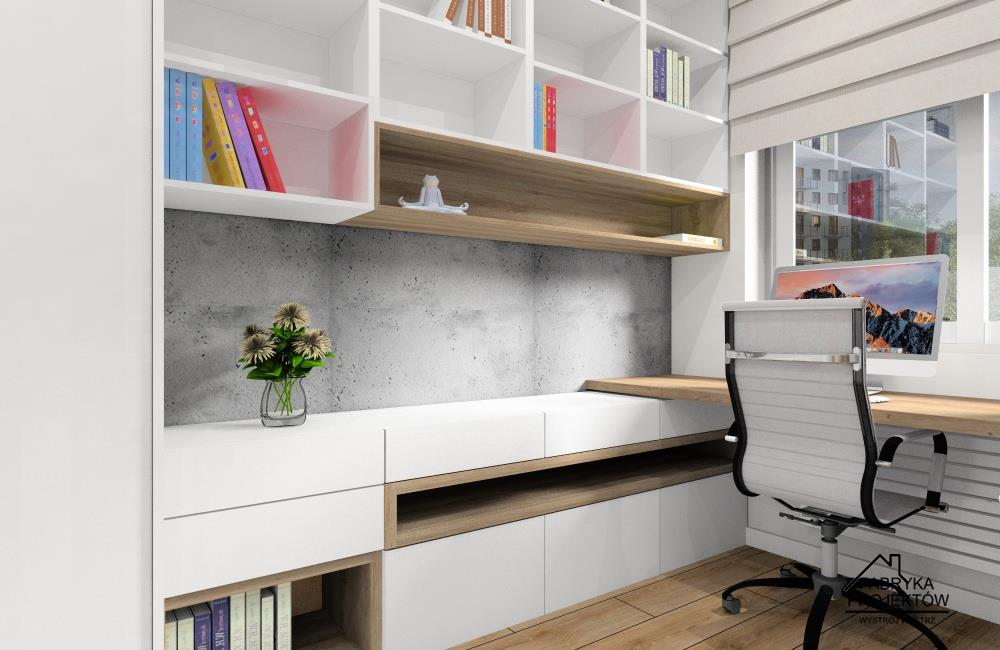 Pokój biurowy w domu