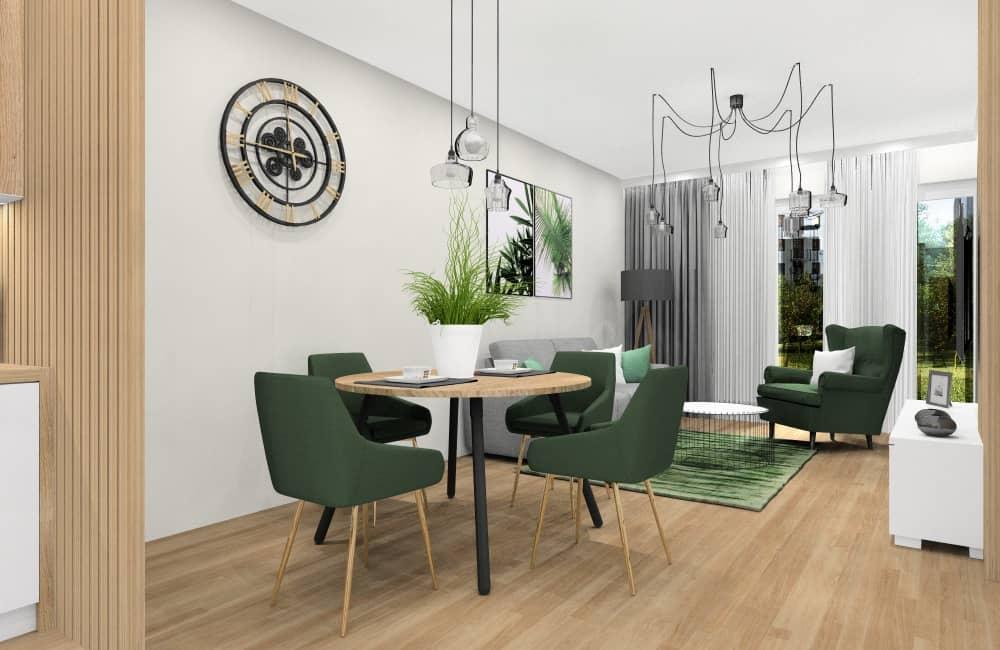 Salon z kuchnią, pomysł na aranżacje wnętrza salonu połączonego z kuchnią