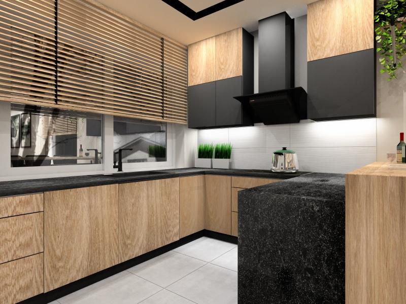 Kuchnia 10 m2. Projekt kuchni z oknem. Kuchnia marzeń