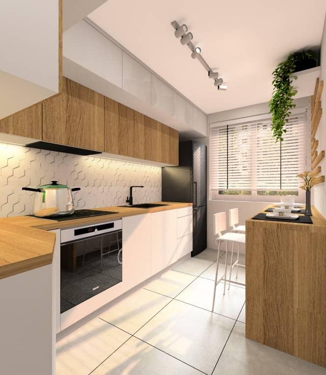 Kuchnia 8 m2 z oknem. Projekt wnętrza kuchni i praktyczne porady