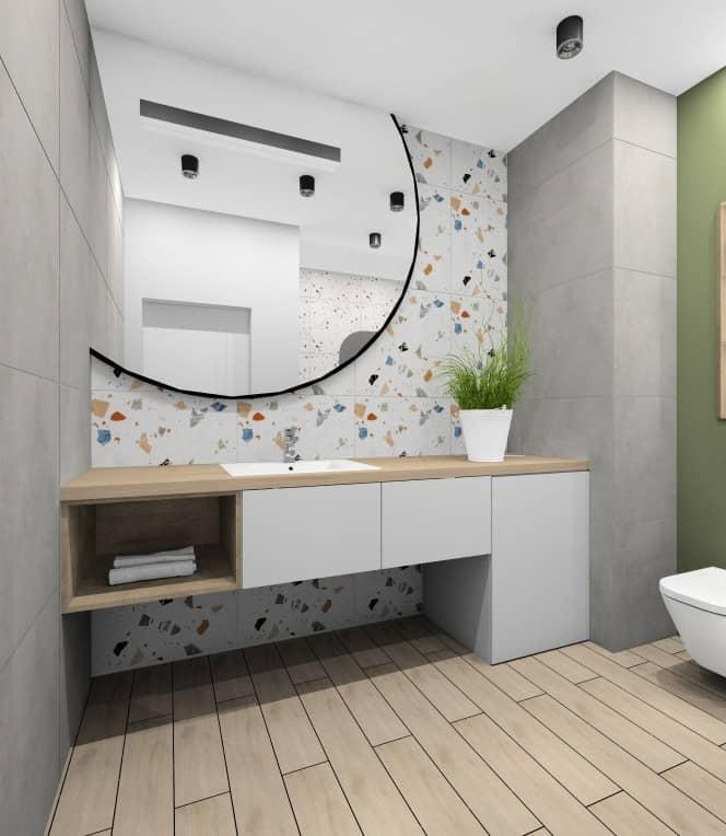 Łazienka, wizualizacja