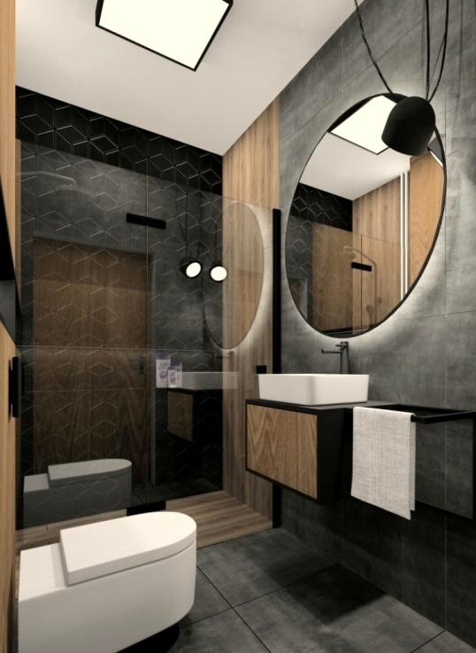 Projekt łazienki 3m2 z prysznicem. Pomysł, inspiracje, aranżacje małej łazienki