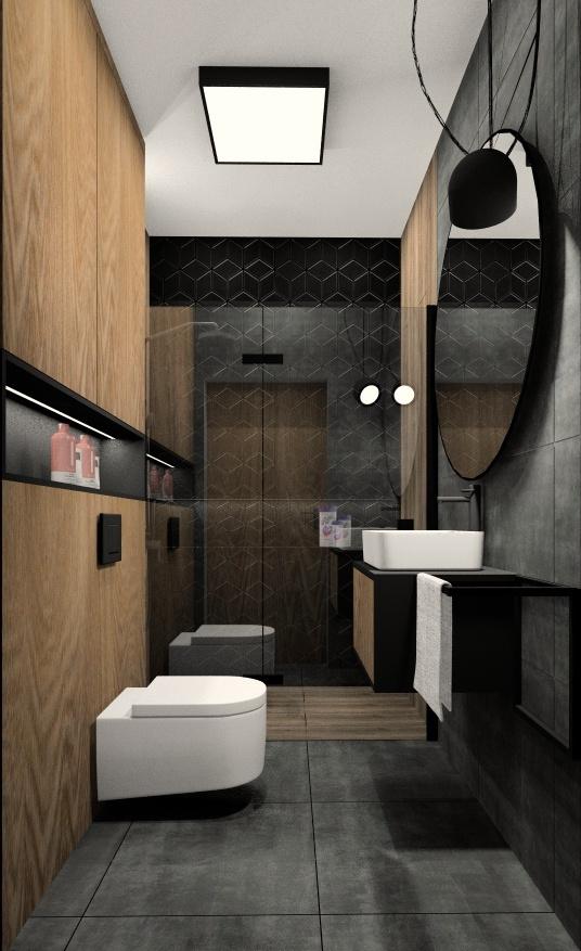 Projektowanie małej łazienki