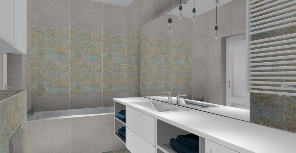 Projektowanie łazienki, nowoczesna łazienka