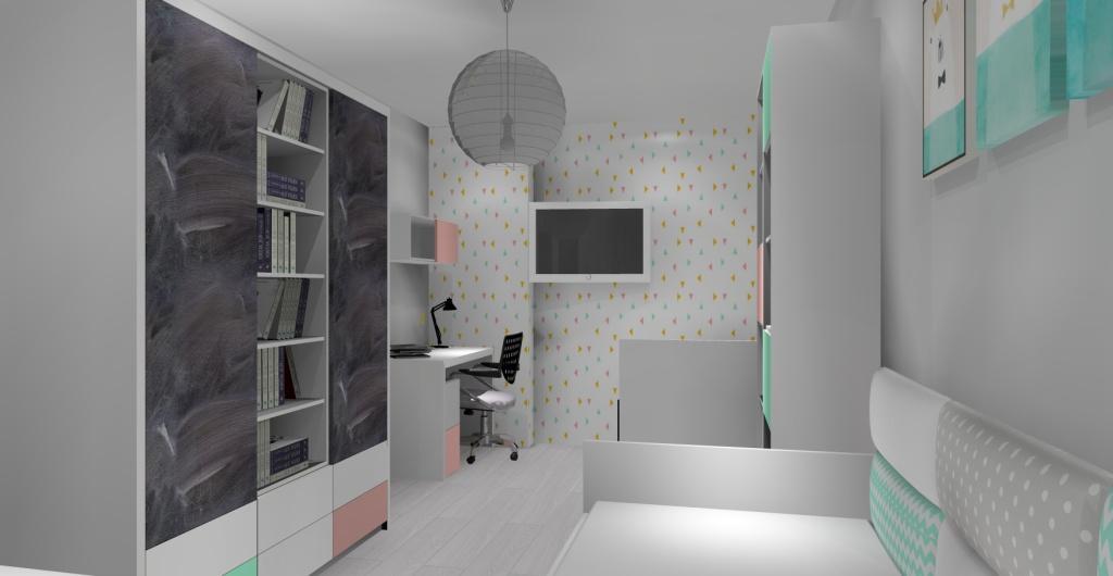 projektowanie pokoju dla dziecka, nowoczesne pokoje dla dzieci