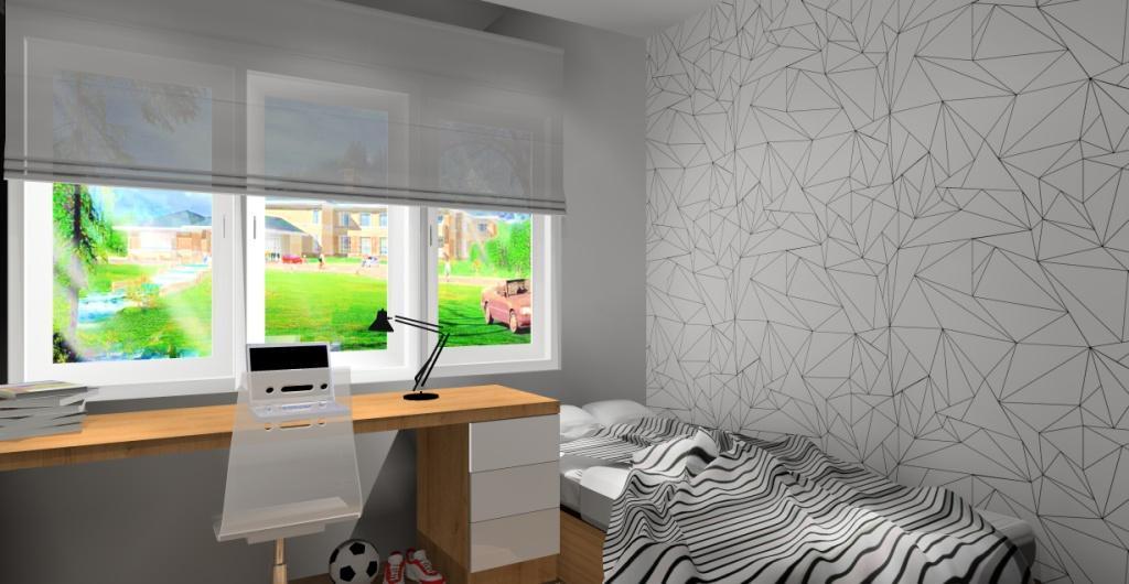 Nowoczesny pokój dla chłopca, nowoczesny pokój dla nastolatka