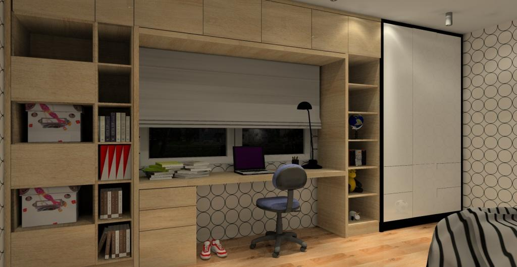 Pokój nastolatka, projekt pokoju dla chłopca