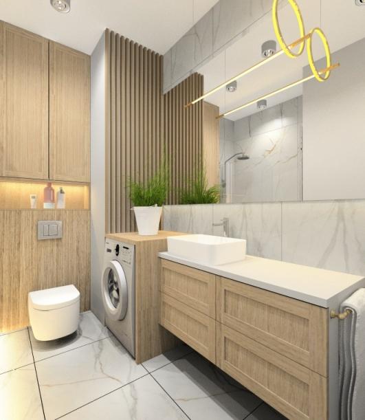Łazienka 5 m2. Jak ją urządzić: projekt wnętrza