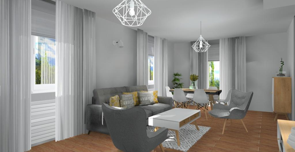Salon Aranzacja Salonu W Stylu Skandynawskim
