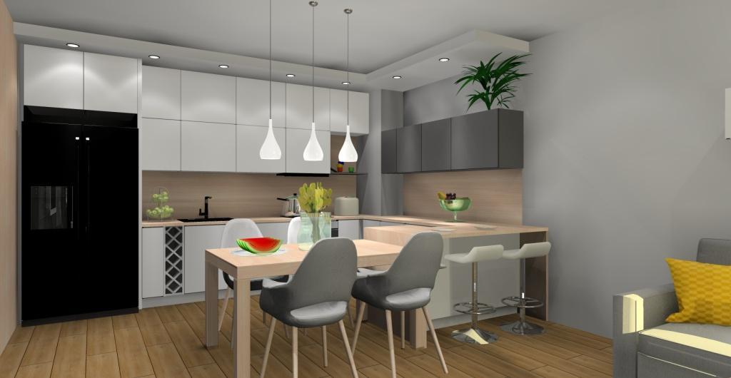 Jak Urządzić Salon Z Kuchnią Aranżacja Kuchni Z Salonem