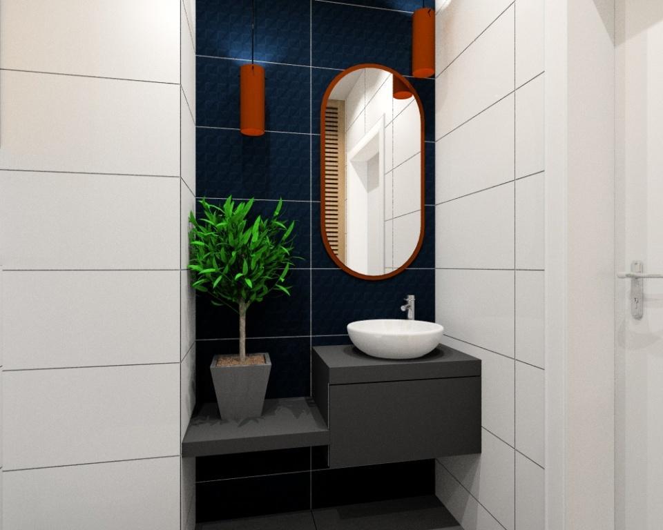 Mała łazienka Urządzamy Nowoczesną łazienkę