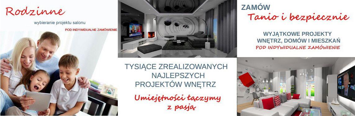 Projekty salonu