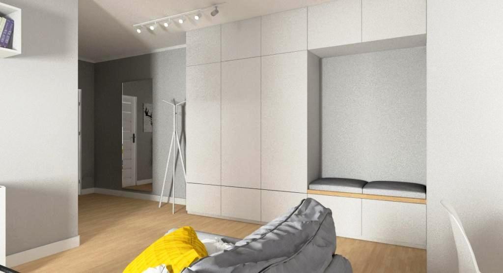 Przedpokój w małym mieszkaniu