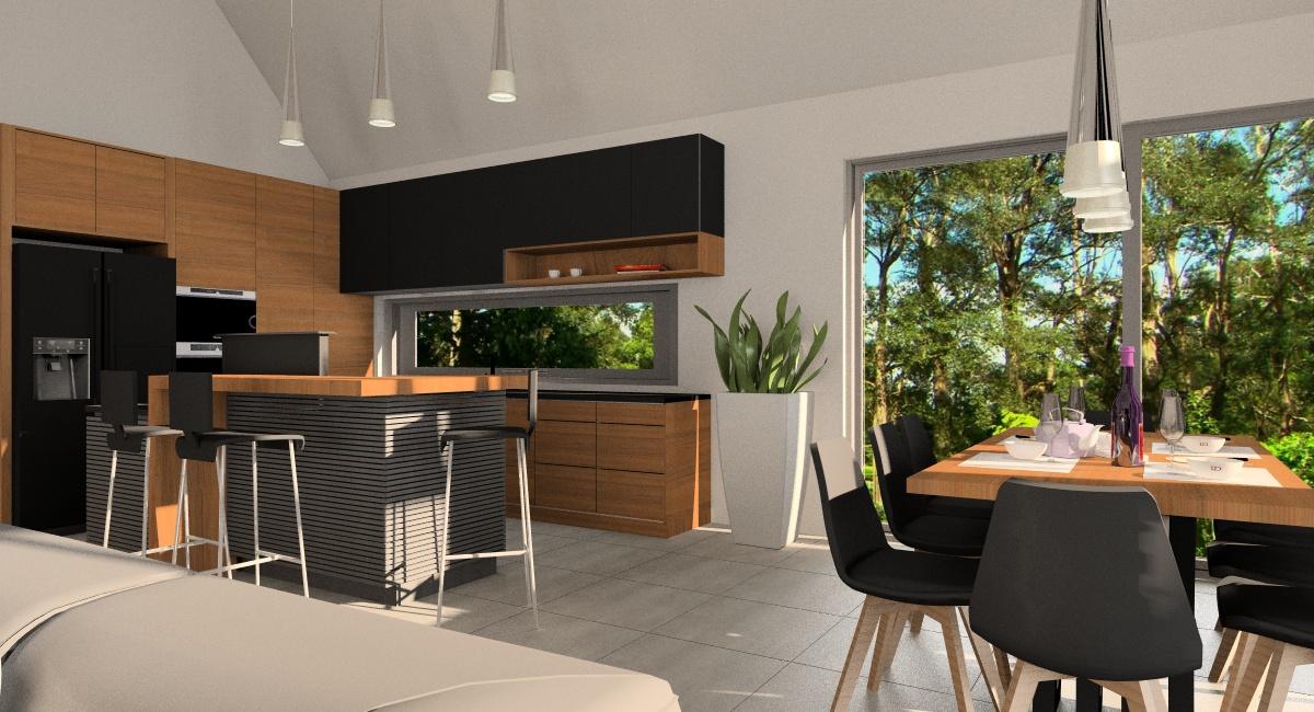 Salon z kuchnią i jadalnią: jak nowocześnie urządzone wnętrze?