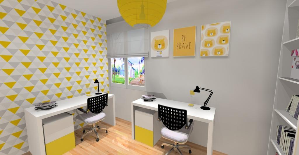 Jak ozdobić pokój dziecięcy?, tapety, poduszki dekoracyjne, plakaty, pokój dla dziecka, zółty, biały