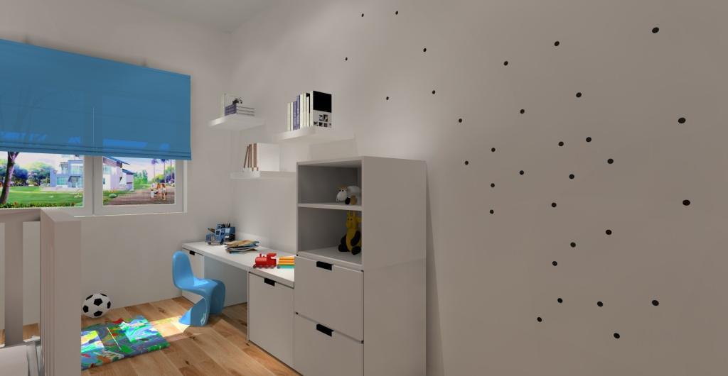 Jak urządzić pokój dziecięcy, meble ikea, pokój dziecka w kolorze białym
