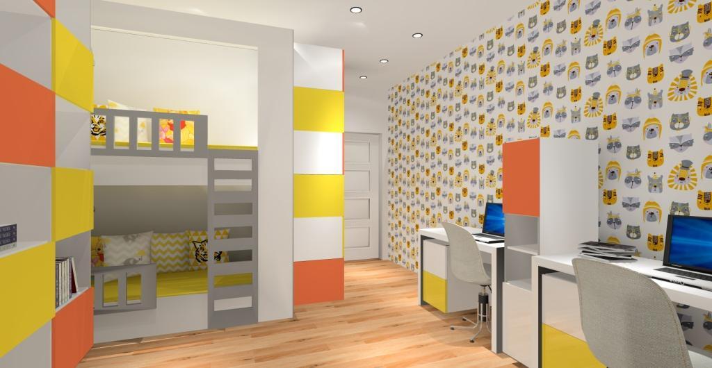 pokój dla dziewczynki, jakie kolory, pokój dla dziewczynki zółty, biały