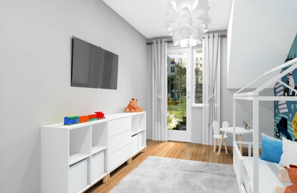 Dekoracje i dodatki w pokoju dziecka