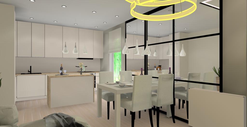 Mały salon z kuchnią – duże potrzeby