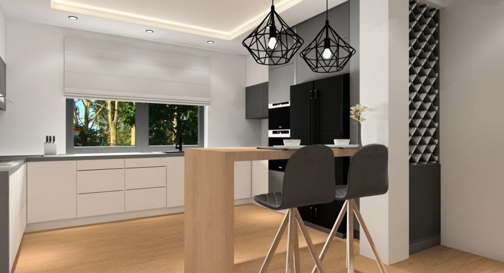 Nowoczesne projekty wnętrz: Pomysły na urządzenie małego i średniego salonu, kuchni, jadalni czy pokoju