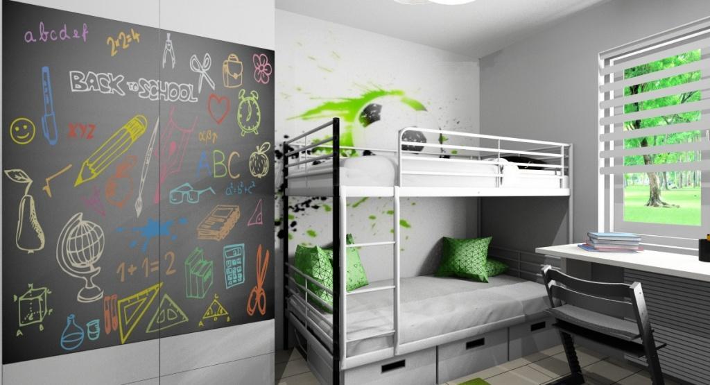 Pokoje dziecięce: zdjęcia, aranżacje wnętrz