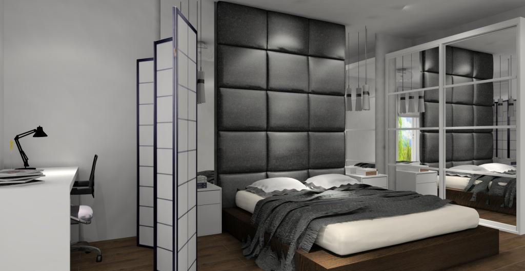 Projekty sypialni, sypialnia nowoczesna