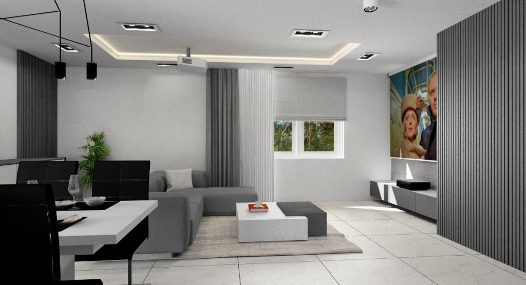 Salon, neutralne kolory