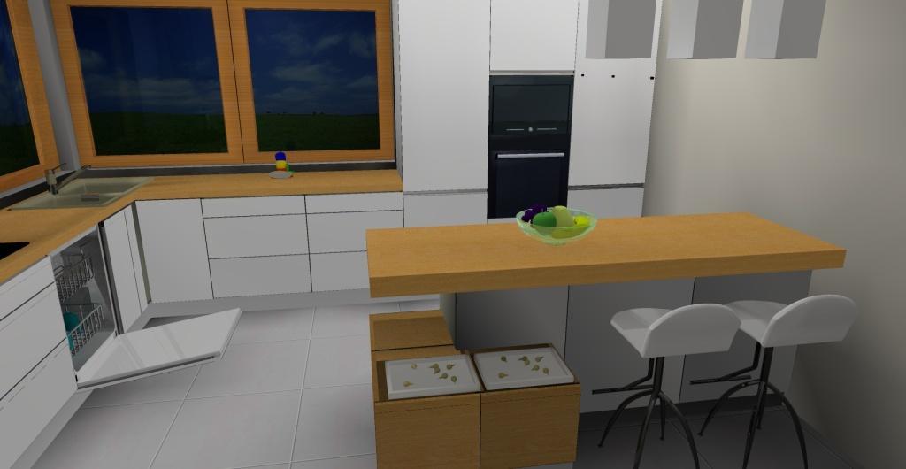 Kuchnia otwarta, kuchnia nowoczesna z wyspą, projekt nowoczesnej kuchni z wyspą