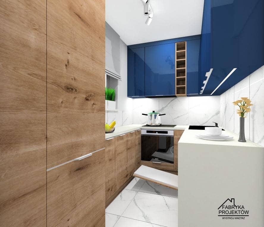 Mała kuchnia w bloku. Pomysł na urządzenie małej kuchni. Projekty wnętrz