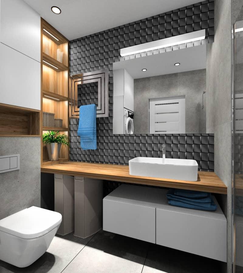 Jak urządzić małą łazienkę? projekty wnętrz małej łazienki