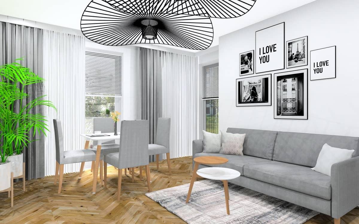 Jak urządzić małe mieszkanie 40 m2: Projekty wnętrz