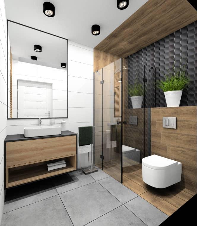 Pomysł na aranżacje łazienki 4 m2. Projekt wnętrza małej łazienki