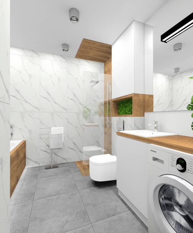 Pomysły na łazienkę. Łazienka z drewnem. Zobacz projekty i aranżacje wnętrz