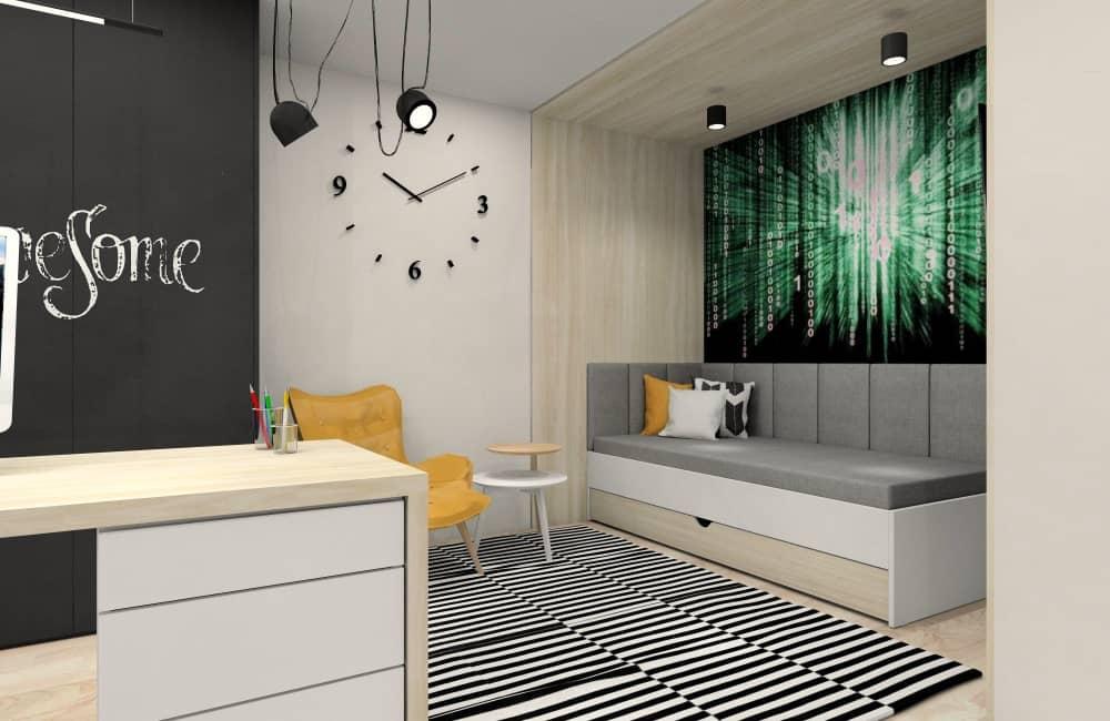 Pokoje młodzieżowe dla chłopca: dodatki i dekoracje