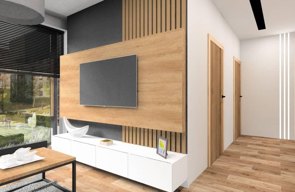 Mieszkanie 70 m2. Aranżacja mieszkania w bloku