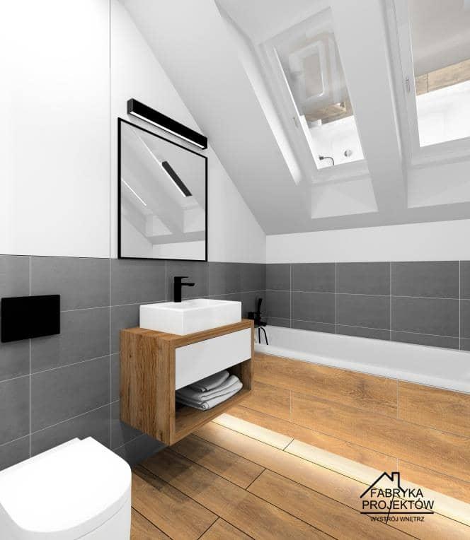 Łazienka z wanną. Aranżacje i projekt wnętrza