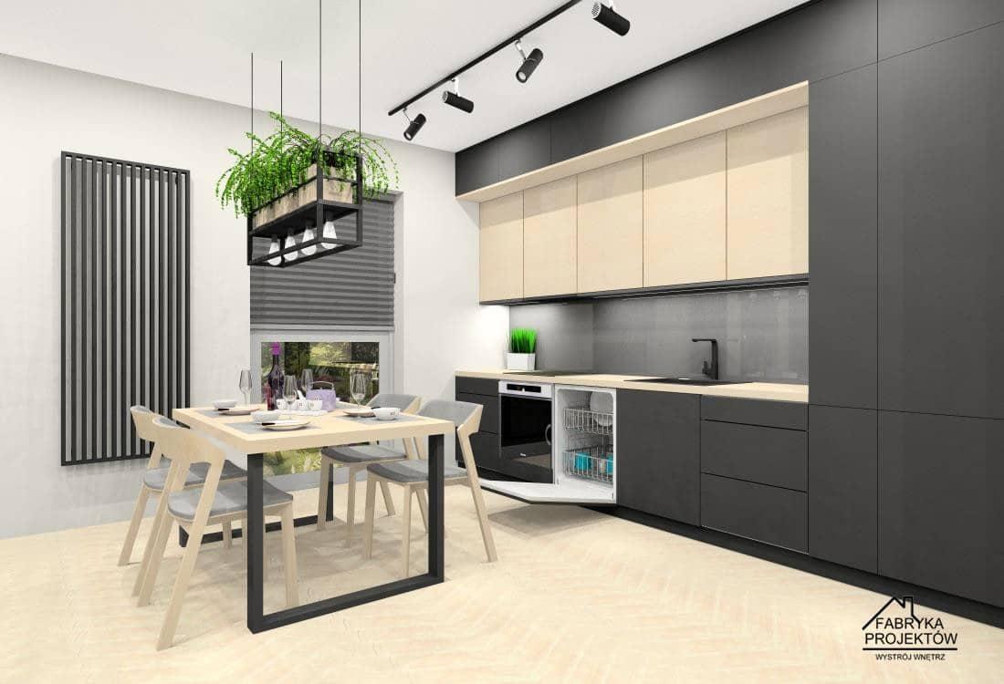 Pomysł na aranżacje mieszkania w bloku 60 m2. Projekty wnętrz