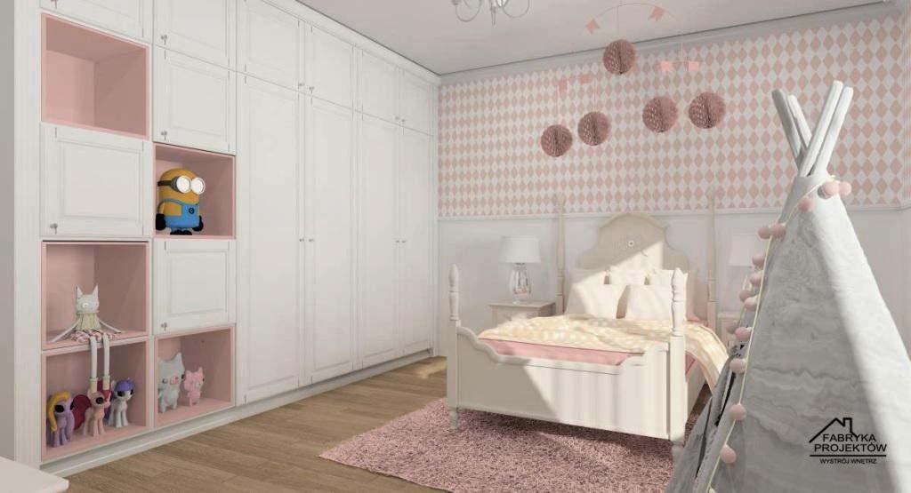 Strefa odpoczynku w pokoju dla dziecka